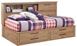 Bookcase Storage Bed Set Dexifield Bookcase Storage Bedroom Set From Ashley B298
