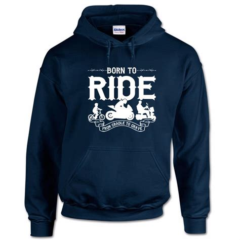 Hoodie Born To Cycle Z1xs born to ride biker motorcycle superbike racing moto gp mens hoodie ebay