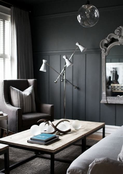 dark gray wall paint choosing the right shade of grey paint