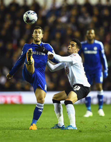chelsea derby eden hazard photos photos derby county v chelsea zimbio