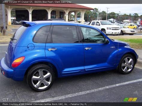 2003 chrysler pt cruiser gt in electric blue pearl photo no 25626829 gtcarlot