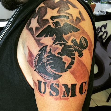 usmc tattoos 25 cool usmc tattoos meaning policy and designs