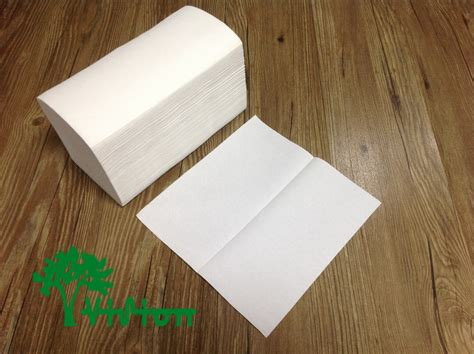 Folded Tissue Paper - air single fold towel paper white wholesale