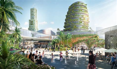Forest City In Iskandar Malaysia By Sasaki