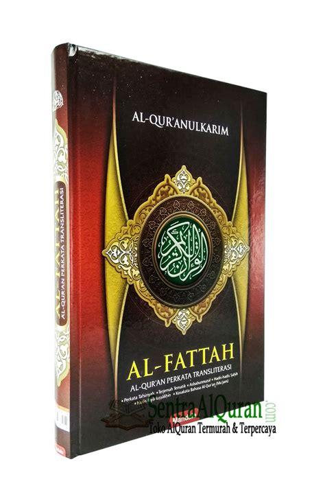 Al Quran Al Fattah A6 alquran murah perkata al fattah a4