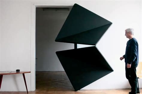 Origami Door - klemens torggler the origami quot evolution quot door hypebeast