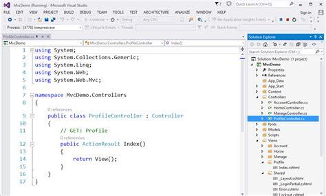 tutorial asp net mvc bahasa indonesia kode dot net asp net mvc 5 part 02 membuat controller