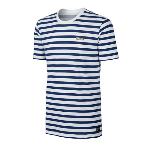 White And Blue Shirt nike fc stripe t shirt white blue 789449 100