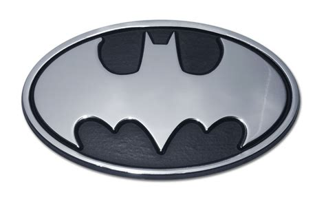 Batman Chrome Emblem (3D Bat) on Storenvy