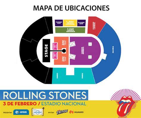 preguntas frecuentes ticketek rolling stones en chile 3 de febrero estadio nacional