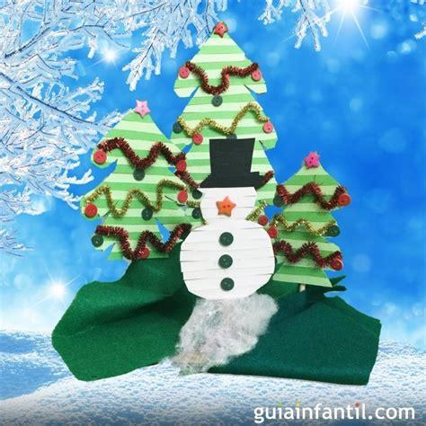arboles de navidad con nieve decoraci 243 n de navidad mu 241 eco de nieve y 225 rboles navide 241 os