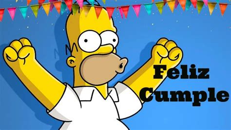 Imagenes De Cumpleaños Los Simpson | imagenes de cumplea 241 os de los simpson imagenes y