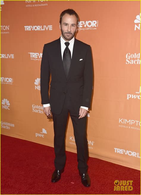 Tom Hit The Carpet by Honorees Kristin Chenoweth Tom Ford Hit The Carpet