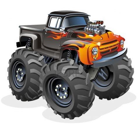 monster truck cartoon videos google image result for http us 123rf com 400wm 400 400