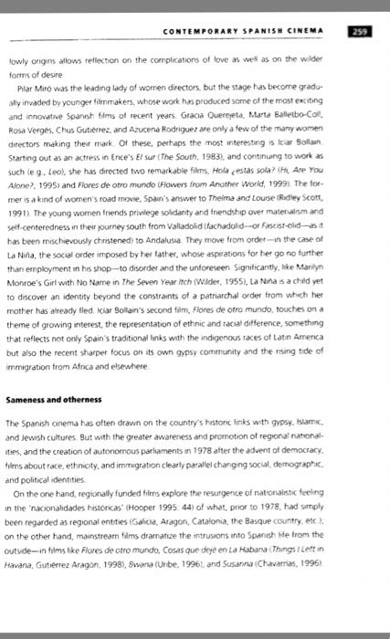 contemporary film history quiz answers please read this artical below on contemporary spa