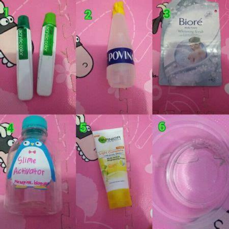 Cara Membuat Slime Dari Eskulin | cara membuat slime yang mudah dan aman untuk anak anak