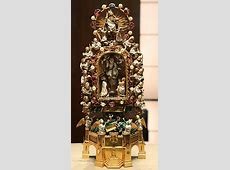 Holy Thorn Reliquary - Wikipedia Round White