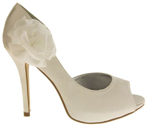 Wedding Pumps by Satin Wedding Pumps Formal Shoes Womens Bridal