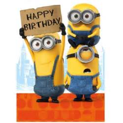 20 happy birthday minion cards holidays and observances