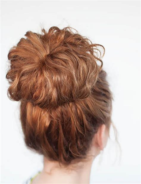 hair up curly hairstyles 18 updos for curly haired girls brit co