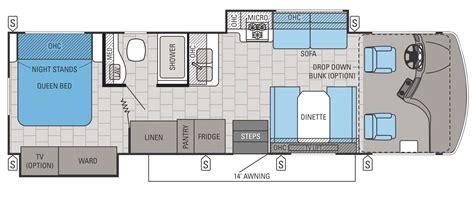 jayco cer floor plans jayco introduces new class a motorhome the alante vogel