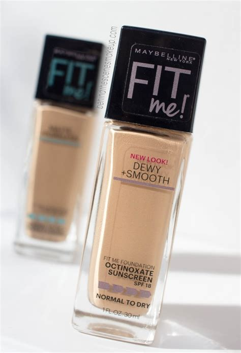 Fit Me Foundation Dewy Maybelline maybelline fit me foundation review dewy smooth matte poreless