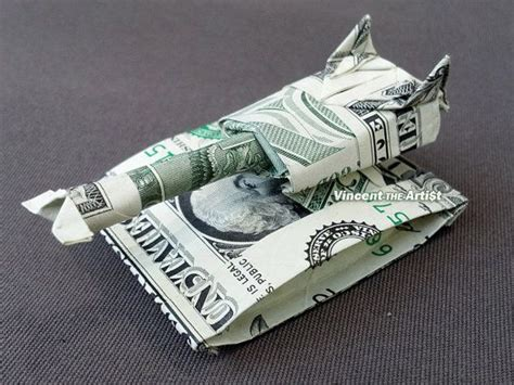 Army Origami - beautiful money origami pieces many designs made of