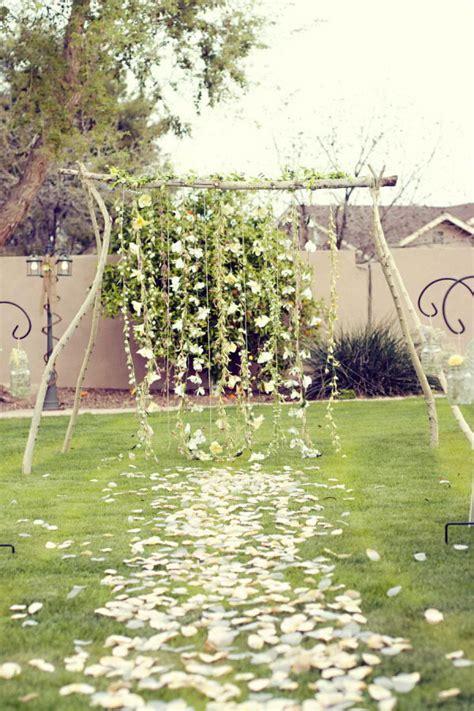 Backyard Wedding Arch 20 Cool Wedding Arch Ideas Hative