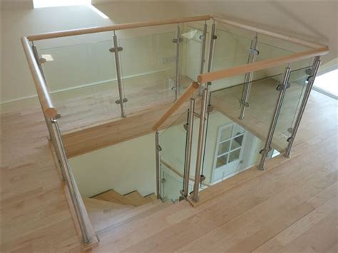 banister glass glass balustrade balconies in harrogate yorkshire