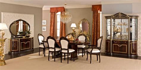 furniture make a statement in the dining room with three italian dining room sets marceladick com