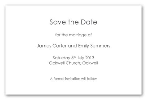 save the date cards wording template wedding invitation wording sles save the date matik for