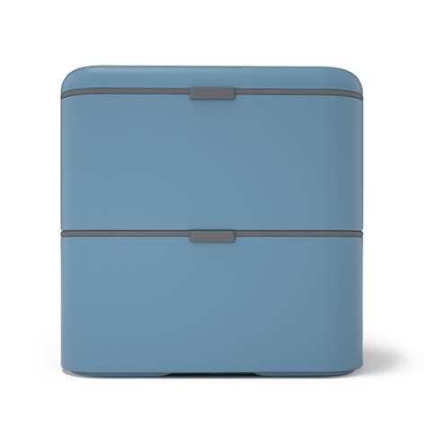 mb square denim the square bento box