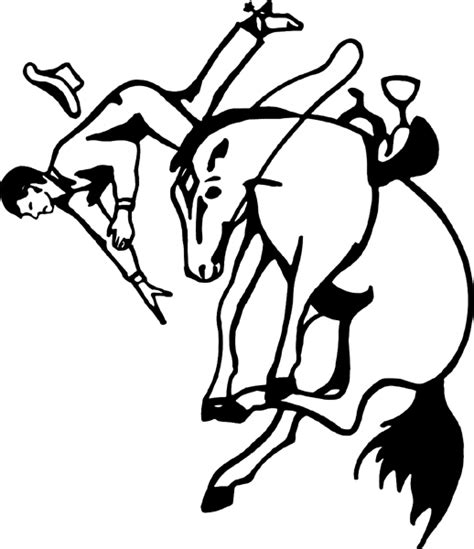 coloring pages of bucking horses free coloring pages of bucking horse