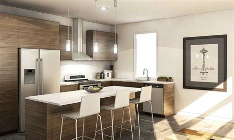 Modern Condo Kitchen Design Seattle Condo Projects Could Start New Boom Condo