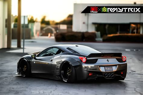 Shooting Flames with the LB Performance Ferrari 458