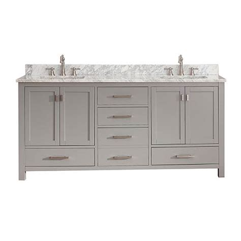 72 Inch Vanity Cabinet Only by Modero Chilled Gray 72 Inch Vanity Only Avanity