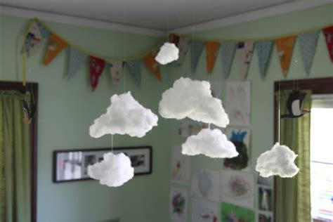 How To Make A Paper Cloud - how to make clouds diy crafts handimania