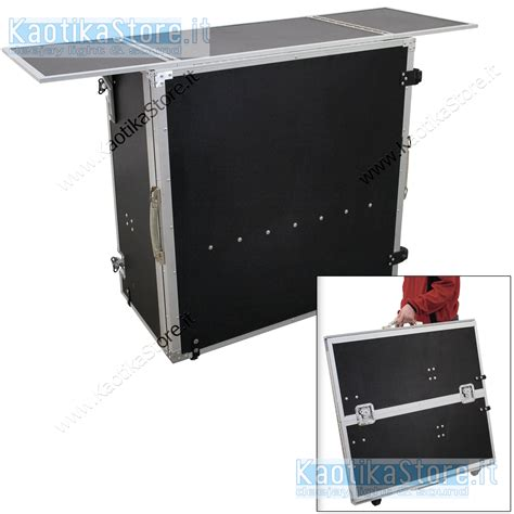 banco dj tavolino apribile trasporto stand dj banco da lavoro
