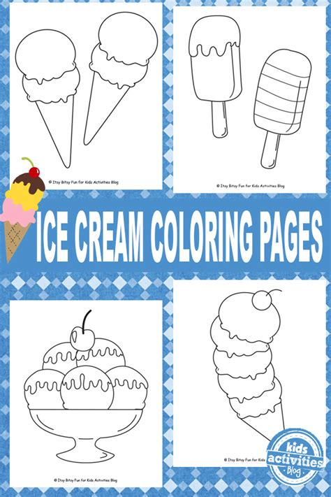 ice cream party coloring pages free coloring pages of ice cream party