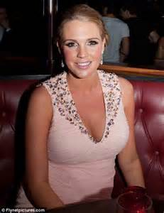 Danielle Lloyd The Stripped Miss Great Britain Strips For by Pretty In Pink Danielle Lloyd Supports
