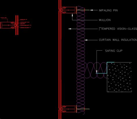 Curtain Wall Dwg Detail For Autocad Designs Cad