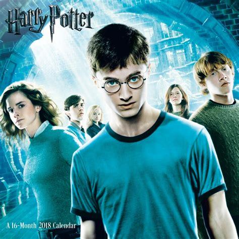 Calendar Harry Potter Harry Potter Wall Calendar 2018 Trends International