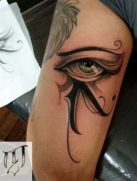 egypt eye tattoo the 25 best horus ideas on anubis