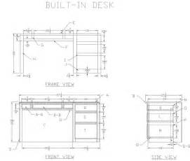 Built In Office Desk Plans How To Build A Wood Desk Free Woodworking Plans At S Wood Projects