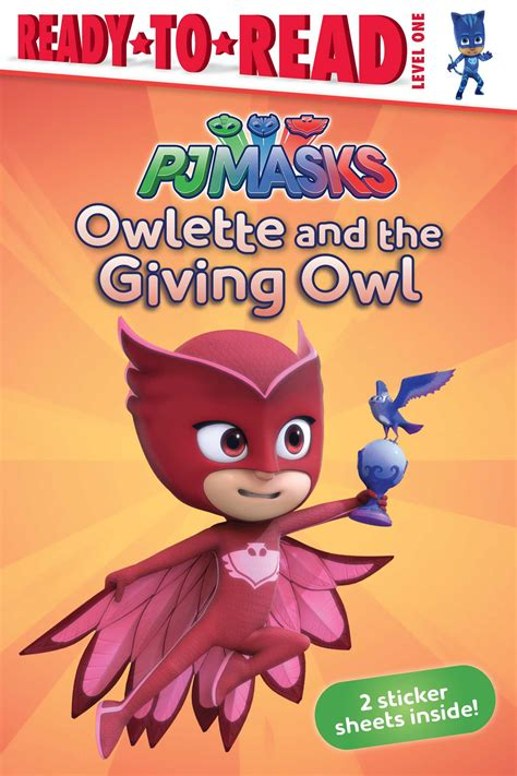 owlette gets a pet pj masks books owlette and the giving owl book by pendergrass
