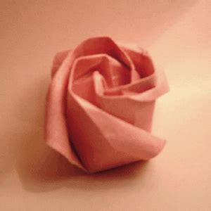 Origami Paper Roses - paper flower origami tutorial papermodeler