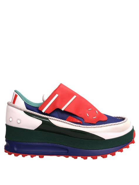 Shoes Sport Adidas 723 Cowok Jc lyst raf simons x adidas trekker 1 trainers redgreenwhiteblue in blue for
