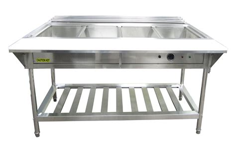 electric table top steam table adcraft water bath 4 well electric steam table lionsdeal