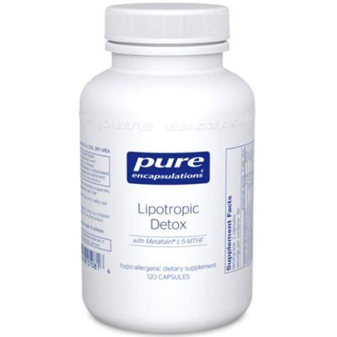 How To Detox Acid From by Encapsulations Lipotropic Detox Folic Acid Formula