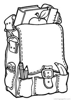 coloring pages school objects classroom objects for coloring buscar con google